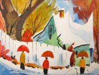 Trio de parapluies