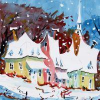 Village d'hiver