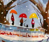 Jeux de parapluies
