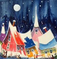 Danse dans le village